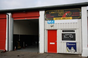 Little tyre shop shrewsbury